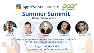 AppsEvents Online Summer Summit
