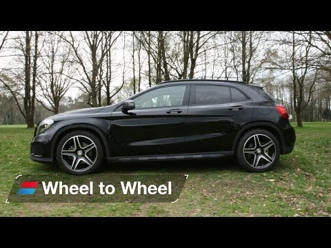 Land Rover Range Rover Evoque vs Mercedes GLA vs Volkswagen Tiguan video 2 of 4