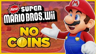 Is it possible to beat New Super Mario Bros. Wii WITHOUT A COIN?