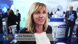Live von der Interclean 2018: Kimberly Clark