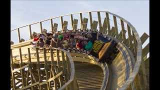 preview picture of video 'The Top 10 Wooden Rollercoasters in the world'