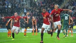 Hull City Vs Manchester United 01 All Goals And Extended Highlights Premier League 27/08/2016 HD