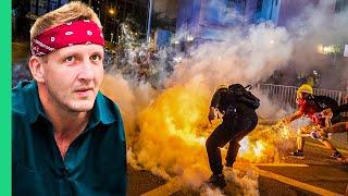 Surviving Hong Kong! DARING Food Tour Amid Escalating Protests!