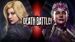 Black Canary VS Sindel (DC Comics VS Mortal Kombat) | DEATH BATTLE!