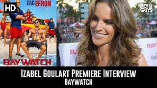 Izabel Goulart Interview - Baywatch Global Premiere