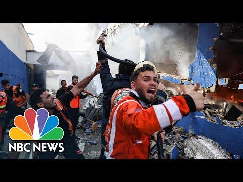 Israeli Bombardments Strike At Gaza's Fragile Infrastructure