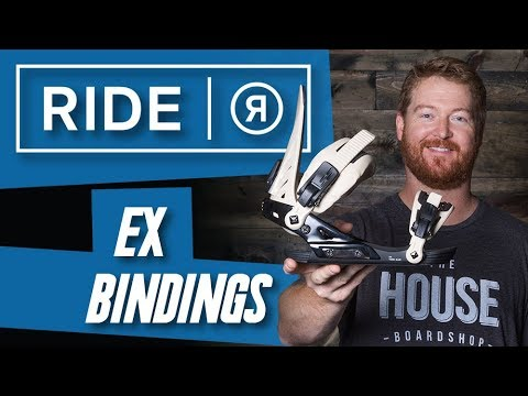 2018 Ride EX Snowboard Bindings – Review- The-House.com