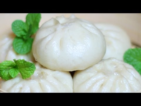 Chinese Pork Buns Recipe / 豬肉白菜包子