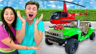SURPRISING MY CRUSH WITH 24 GIFTS IN 24 HOURS!!