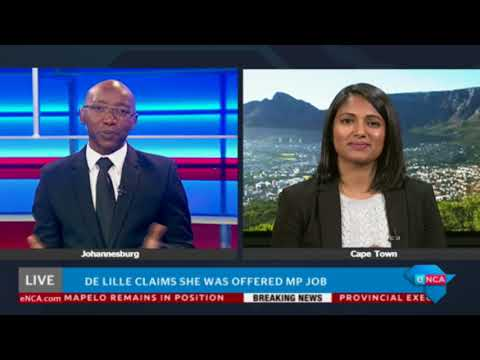 Patricia de Lille claims she was offered MP job