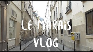 ВЛОГ ПАРИЖ. МАРЭ часть 1 // VLOG PARIS. LE MARAIS part 1