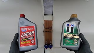 DO NOT USE this engine oil!!! Mobil 1 & Lucas oil.