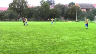 preview picture of video 'TJ Sokol Domaželice - TJ Sokol Újezdec 1. poločas'