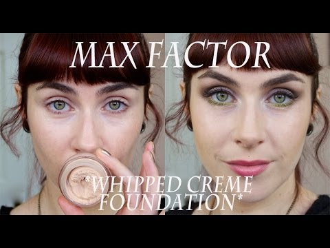 Product Focus; Max Factor *Whipped Creme Foundation*