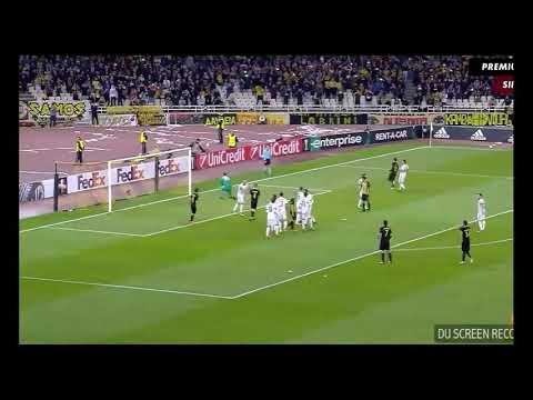 AEK Athens vs Ac Milan Highlighst 0-0