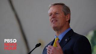 WATCH: Massachusetts governor Charlie Baker gives coronavirus update -- March 26, 2020