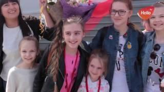 Елизавета Качурак Голос дети 4 вернулась в Волгоград. Встреча в Волгограде Лизы Качурак.