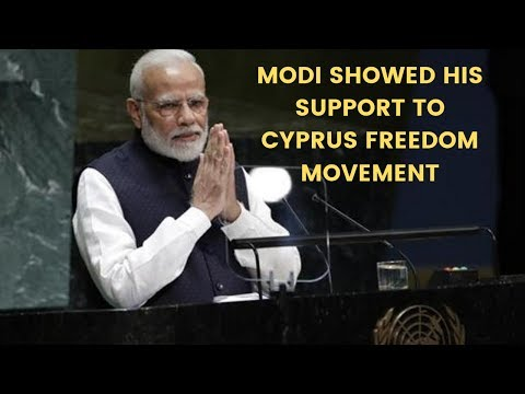 PM Narendra Modi showed his support to Cyprus freedom movement |NewsX