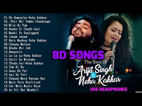 Download 8D Hindi Songs 2018 | Arijit singh | Neha kakkar hit songs | 8d songs. HD Mp4 3GP Video and MP3