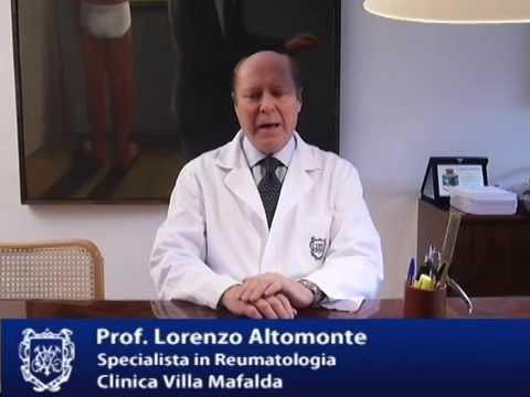 l Prof. Lorenzo Altomonte: reumatologia presso Villa Mafalda