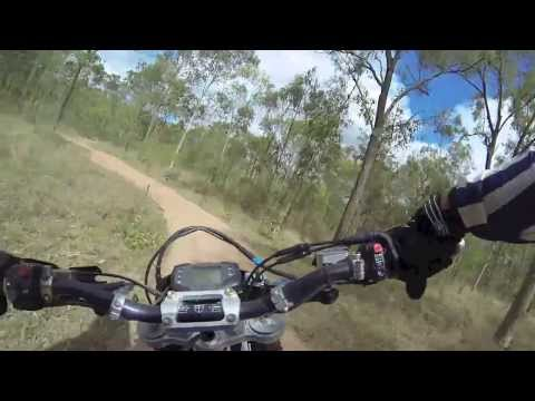 GoPro - Husqvarna FE 450 Enduro Riding