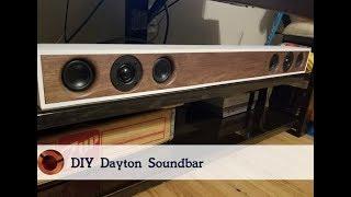 How To Make Your Own Soundbar   Free Plans! DIY Speaker Build