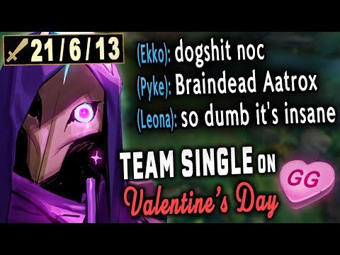 Why Valentine's is the most Toxic Day in League Of Legends