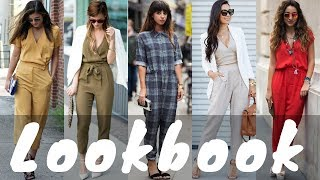 Latest Jumpsuit Dresses Outfit Ideas Trend for Spring 2018   Spring Fashion Lookbook