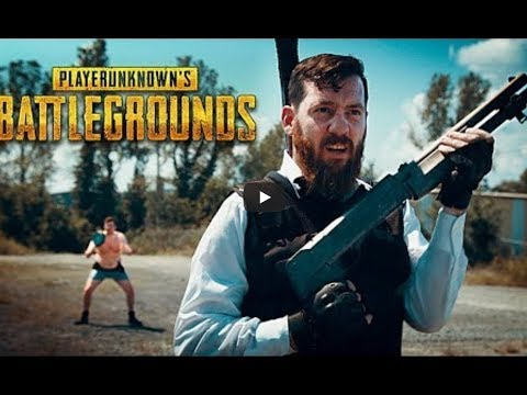 PlayerUnknown's Battlegrounds na Vida Real