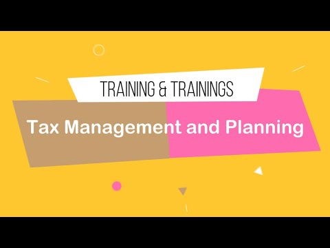 Welcome Note Intro of Training&Trainings | Tax Consultancy