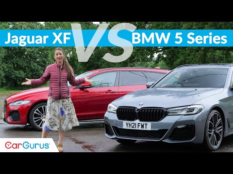 2021 BMW 5 Series vs Jaguar XF: Touring takes on Sportbrake in battle of great estates | CarGurus UK