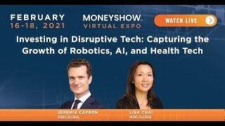 Investing in Disruptive Tech: Capturing the Growth of Robotics, AI, and Health Tech