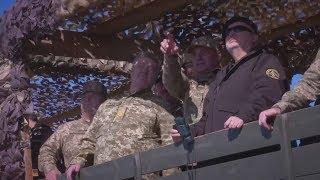 Навчання ВМФ України на Азовському морі