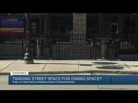 Trading street space for dining space as solution amid pandemic