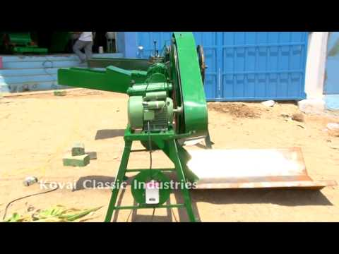 Chaff Cutter for Mushroom Farm