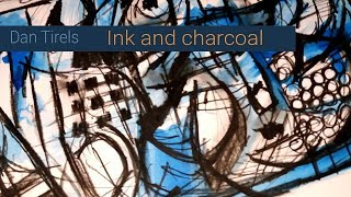Drawing Ink And Charcoal Demo (realtime)
