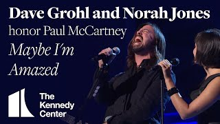 Dave Grohl And Norah Jones - Maybe Im Amazed (Paul McCartney Tribute) - 2010 Kennedy Center Honors