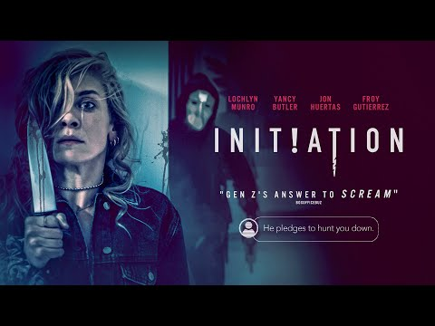 Initiation | UK Trailer | Campus slasher starring