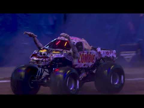 Monster Jam 2021 ナッシュビル TN のハイライト動画