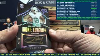 2016 Panini Black Gold Football 8 Box Case Break #2