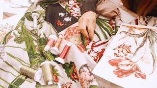 Alta Sartoria Embroidered Robe Coat – The Making Of