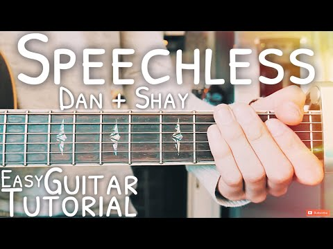 Speechless Dan + Shay Guitar Tutorial // Speechless Guitar // Lesson #490 Mp3