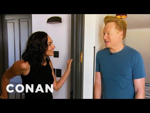 #ConanIsrael Sneak Peek: Gal Gadot - CONAN on TBS