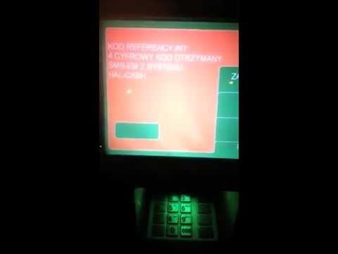 Bitcoin ATM Poland HalCash video