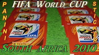 Panini Album Sticker FIFA World Cup 2010 South Africa new stickers Lucky Bag