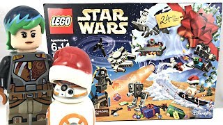 LEGO Star Wars Advent Calendar 2017 Review And Unboxing! 75184!