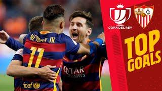 🔥🔥 INCREDIBLE GOALS AGAINST SEVILLA in the Copa del Rey!