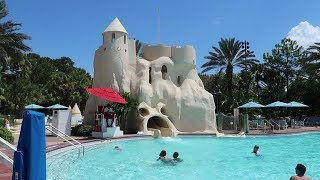 Disney's Old Key West DVC Resort Tour | Hotel Grounds, Pool & Food Locations
