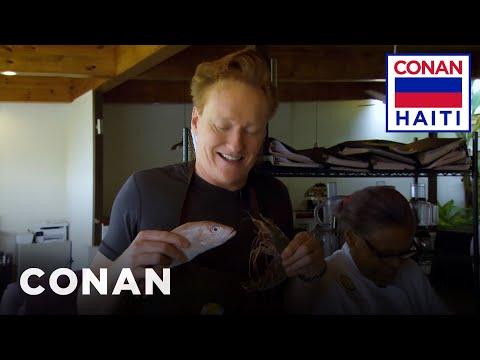 Conan na Haiti #7: Conan se učí vařit