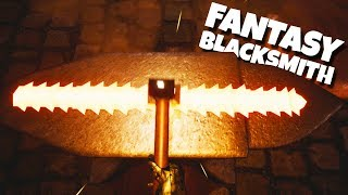 Forging A Sword When Nothing Goes Wrong in Fantasy Blacksmith